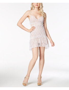 Forbidden Lace Mini Dress by Guess