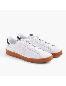 New Balance® For J.Crew 791 Leather Sneakers by New Balance