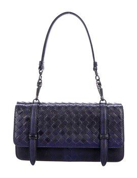 Intrecciato Karung Shoulder Bag by Bottega Veneta