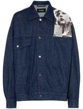 Punkette Oversized Denim Jacket by Raf Simons