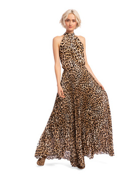 Katz Leopard Maxi Skirt by Alice And Olivia