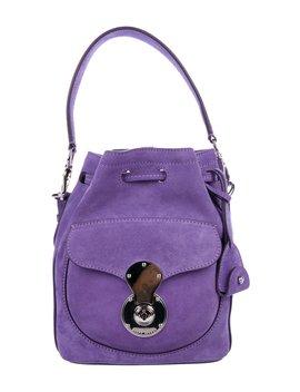 Suede Ricky Bucket Bag by Ralph Lauren