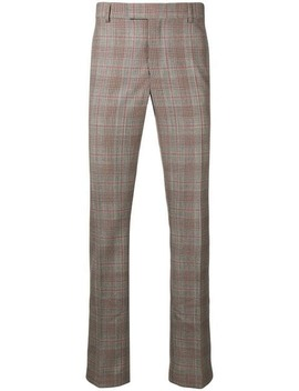 Plaid Tailored Trousers by Calvin Klein 205 W39nyc