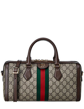 Gucci Ophidia Gg Medium Leather Top Handle Shoulder Bag by Gucci