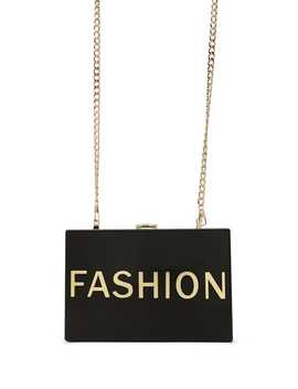 Fashion Graphic Box Clutch by Forever 21