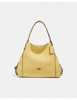Edie Shoulder Bag 31 With Scalloped Detail by Coach