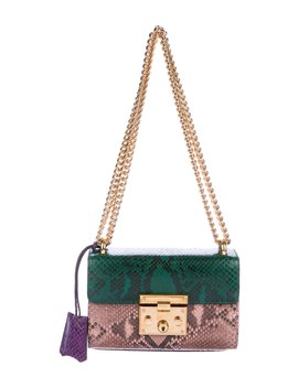 Python Small Padlock Bag by Gucci