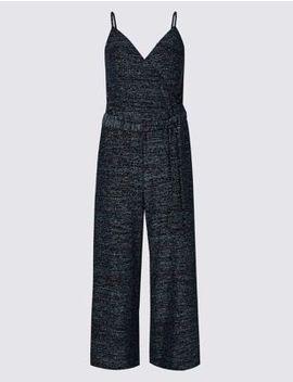 Sparkly Cropped Jumpsuit by Marks & Spencer