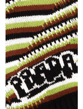 Striped Cashmere Sweater by Prada