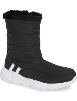 Snowday Faux Fur Lined Boot by Steve Madden