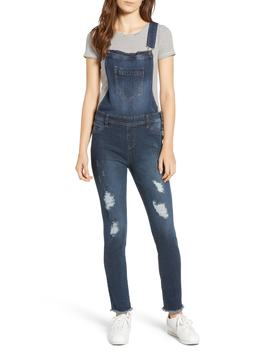 Ripped Skinny Overalls by Tinsel