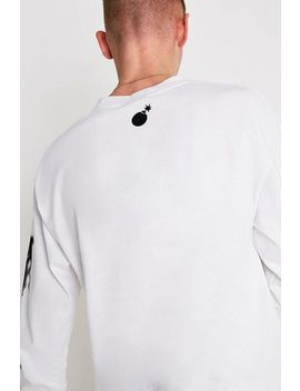 The Hundreds Last Beast White Long Sleeve T Shirt by The Hundreds