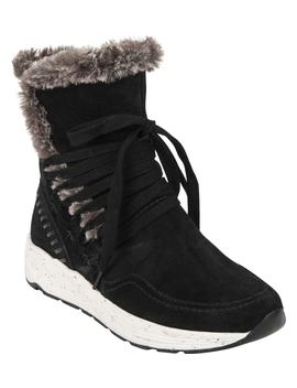 Roamer Faux Fur Trim Boot by Earth®
