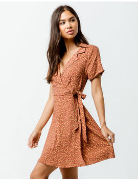 Gypsies & Moondust Floral Wrap Dress by Gypsies & Moondust
