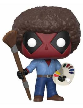 Funko Pop! Marvel: Deadpool Playtime  Bob Ross by Fun Ko