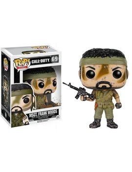 Funko Pop Games: Call Of Duty Action Figure   Woods by Fun Ko