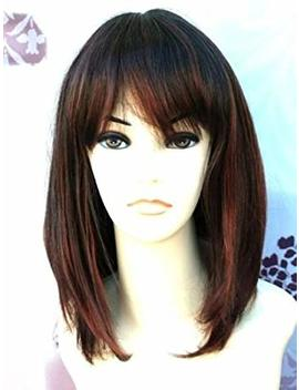 Forever Young Mixed Brown Copper Medium Page Style Face Frame Ladies Fashion Wig by Forever Young