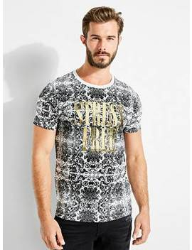 Stress Free Graphic Tee by Guess