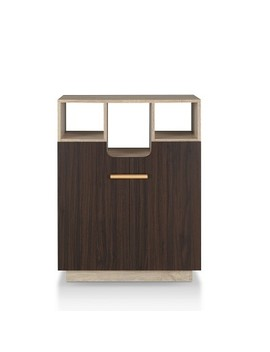 Alcaraz Decorative Storage Cabinet Oak Brown   Mi Basics by Mi Basics