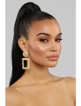 No Other Explanation Earrings   Gold by Fashion Nova