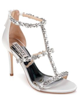 Badgley Mischka Querida Embellished Sandal by Badgley Mischka Collection