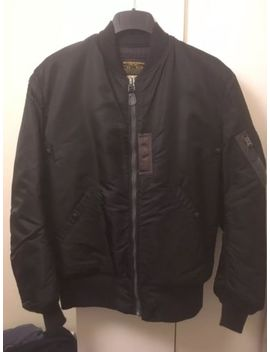 Buzz Ricksons X William Gibson Black Ma1 Bomber Jacket Size 40 Long. Mint by Ebay Seller