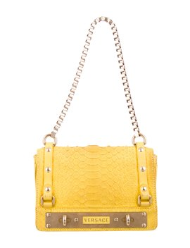 Penelope Python Bag by Versace