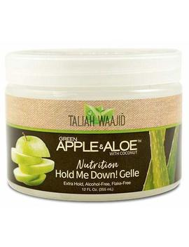 Taliah Waajid Green Apple & Aloe Nutrition Hold Me Down! Gelle 12oz by Taliah Waajid