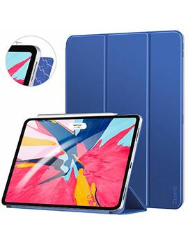 Ztotop Case For I Pad Pro 11 Inch 2018,Strong Magnetic Ultra Slim Minimalist Smart Case With Auto Sleep/Wake,Trifold Stand Cover For I Pad Pro 11 Inch 2018,Navy Blue by Ztotop
