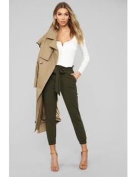 Keepin' It Up Pants   Olive by Fashion Nova