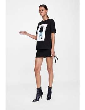 Grafisch T  Shirt Alles Bekijken T Shirts Dames Uitverkoop by Zara