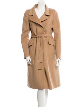 Wool Long Coat by Céline