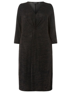 **Dp Curve Bronze Shift Dress by Dorothy Perkins