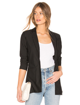 Carissa Pinstripe Blazer by About Us