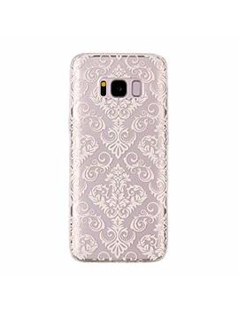 Galaxy S8 Tpu Transparent Phone Case,Asnlove Protection Back Cover Crystal Clear Soft Silicone Painted Shell Anti Slip Scratch Resistant For Samsung S8 by Asnlove