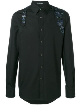 Embroidered Harness Shirt by Alexander Mc Queen