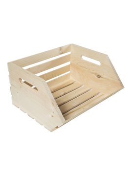 Crates & Pallet Vegetable Solid Wood Crate by Crates And Pallet