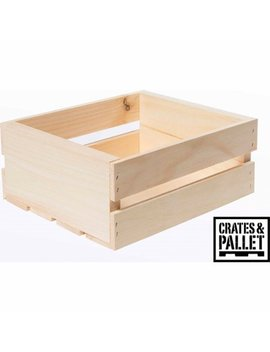 Crates And Pallet Small Wood Crate by Crates And Pallets
