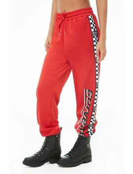 Corvette Graphic Joggers by Forever 21