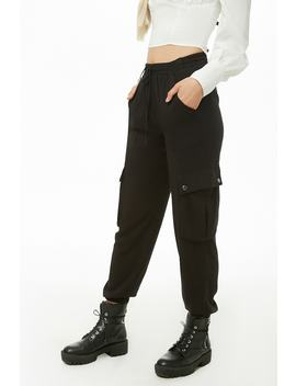 Cargo Drawstring Joggers by Forever 21