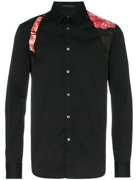 Silk Belted Detail Shirt by Alexander Mc Queen