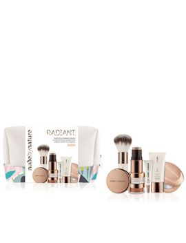 Nude By Nature   'radiant   W2 Ivory' Good For You&Nbsp;Complexion Makeup Set by Nude By Nature
