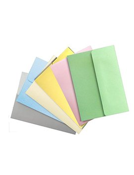Pastel Color Selection 50 Boxed A2 (4 3/8 X 5 3/4) Envelopes For Enclosures Cards Invitations Announcements From The Envelope Gallery by The Envelope Gallery