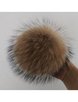Big Real Fox Fur Pom Pom Ball Key Phone Chain Handbag Charm Pendant Accessories by Unbranded