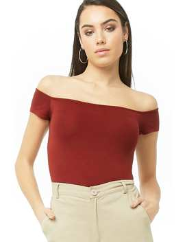 Off The Shoulder Sweater Top by Forever 21