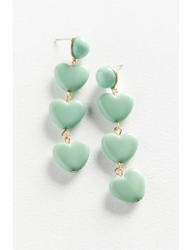 Candy Heart Drop Earring by Urban Outfitters