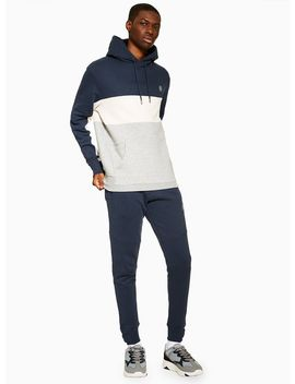 Jog On Tailored Panel Joggers* by Topman