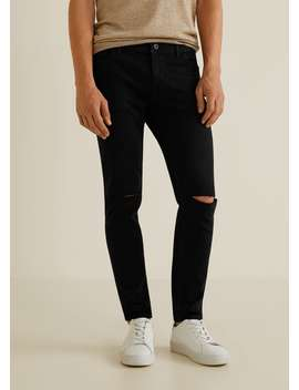 Skinny Jeans Dylan Mit Zerrissenen Details by Mango