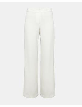 Crepe High Slit Pant by Theory