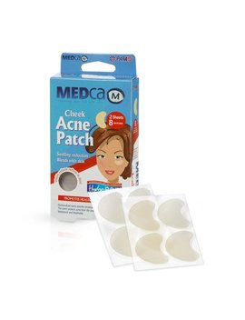 Cheek Size Acne Spot Treatment Hydrocolloid Bandage Face by Generic